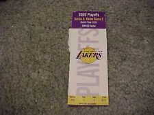 2000 Los Angeles Lakers v Portland Trailblazers 1st Round Basketball Ticket #2