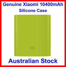 Genuine Soft Silicone Case Green for Xiaomi 10400mAh Power Bank