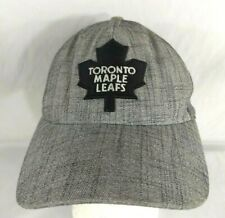 Toronto Maple Leafs Hat Cap by Old Time Hockey Grey Flex Fit Mesh One Size Fit