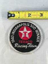 Vintage 1983 Indianapolis 500 Winner Texaco Racing Team Patch - New Old Stock