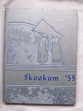 1955 COLVILLE HIGH SCHOOL YEARBOOK COLVILLE, WASHINGTON   SKOOKUM  UNMARKED!
