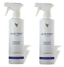 2 Forever Aloe First Natural Soothing Spray, 78.4% Aloe 16 Oz (473 ml)- Exp.2023
