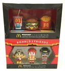 McDonald's X Nanoblock Limited Ed. Collector's Kit Lot of 2 Ronald  Food Icons