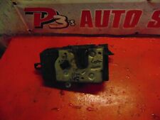 09 08 Saturn Astra oem drivers side left door latch power lock actuator assembly
