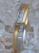 WoW🌹Diamant Ring in aus 750 Gold Ring mit Brillanten Brillant Ring with Diamond