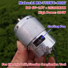 MABUCHI RS-755WC-8017 DC 12V 18V High Speed Drill&Screwdriver/Garden Tools Motor