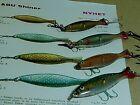 70's Vintage ABU Shiner assorted color S/G/K & size 5cm/6cm/7cm jigging lures