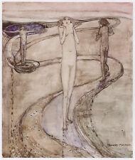 Tis a Long Path, Frances McNair print Charles Rennie Mackintosh Glasgow School
