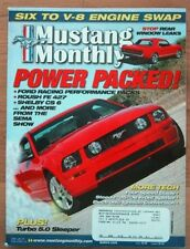 MUSTANG MONTHLY 2006 MAR - SHELBY, ROUSH, 6 TO 8