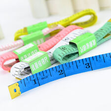 2pcs Portable Body Measuring Ruler Sewing Tailor Tape Measure Soft Flat 1.5m 60""