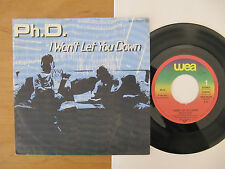 "7"" Ph.D. I won't let you down / Hideaway ex ! Vinyl Single"