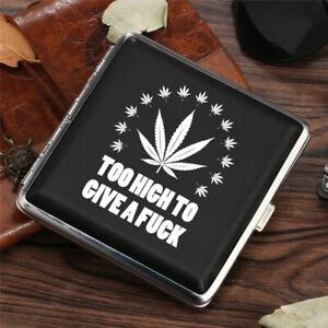 Creative Customized Cigar Cigarette Case Tobacco Pocket Pouch Holder Box Gift