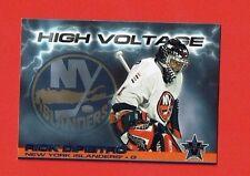 2000-01 Vanguard HIGH VOLTAGE insert # 21 Rick DiPietro NEW YORK ISLANDERS