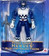 "Power Rangers Lost Galaxy 5"" Blue Ranger Heroes Series 10 New Factory Seal 2003"