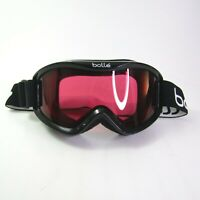 Bolle Snow Snowboarding Ski Winter Goggles Red Orange EUC