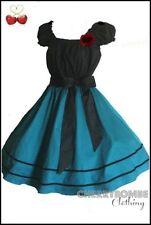 Party 100% Cotton Vintage Dresses for Women
