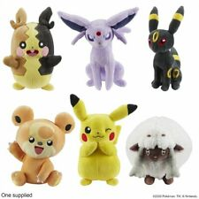 "POKEMON 8"" PLUSH SOFT TOY - PIKACHU WOOLOO MORPEKO TEDDIURSA ESPEON UMBREON"
