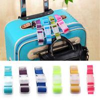 Luggage Belt Strap Adjustable Security Buckle Suitcase Bag Name Identify Travel