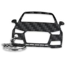 Audi A1 8X 2014 echt Carbon Tuning Schlüsselanhänger - Perfektes Accessoires