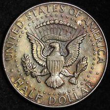 1968-D Kennedy Half Dollar CHOICE BU TONED FREE SHIPPING E278 KN2