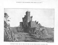 Genuine.Antique.1897.Dunvegan Castle.Isle of Skye.Seat of Norman Macleod.Art