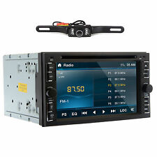 Double 2DIN In dash Car Stereo DVD CD MP3 Player Bluetooth Auto Radio iPod AM FM