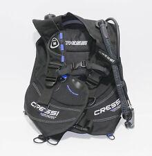 Cressi Tauch Start Scuba Diving Set Tauchjacket Größe M (VT28X127)