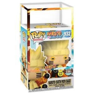 IN STOCK: Funko POP Animation: Naruto - Naruto Six Path Sage (Glow) with Naruto