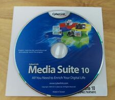 cyberlink media suite 10 dvd install disc