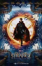 Benedict Cumberbatch Signed Doctor Strange 11x17 Movie Poster COA