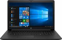 "Brand New HP 17-BY1053DX 17.3"" HD+ Laptop -- i5-8265U/ 8GB/ 256GB SSD / DVD RW+"