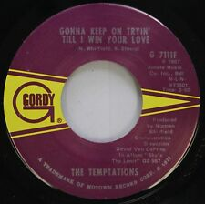 Soul 45 The Temptations - Gonna Keep On Tryin' To Win Your Love / Superstar On G