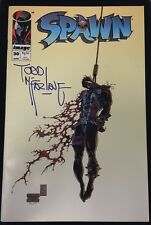 Spawn #30 Autographed By Todd Mcfarlane (Navy Blue) Comic Book