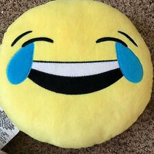 Emoji throw pillow Cry/Laugh Or Sunglasses