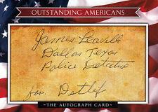 James leavelle (USA), JFK Kennedy attentat 1963 Dallas police orig. signée/sign.