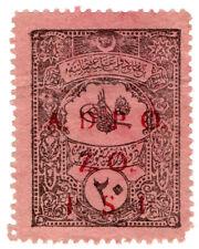 (I.B) Palestine Revenue : Ottoman Public Debt PS1 on 20pa (ADPO)