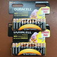 24 x Duracell AAA Long Lasting Power Alkaline Batteries Economy Pack LR03 MN2400