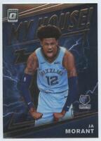 MINT Ja Morant 2019-20 Donruss Optic #7 My House Memphis Grizzlies Rookie PSA ?