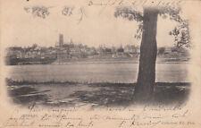 NEVERS 7 vue générale timbre rouge 10 cent. 1902