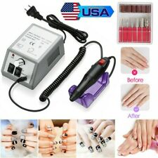 Professional Electric Nail Drill Manicure Tool Pedicure Machine File Set Kits US