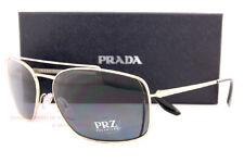 13f23948c1 Nuevo Prada Gafas de Sol Pr 64VS 1BK 5Z1 Dorado/Gris Polarizadas para Hombre