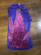 Purple Womans Wizard Dress Halloween Costume Adult Size 2-8