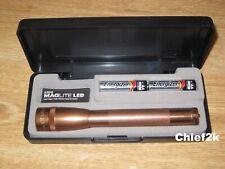 MAGLITE AA LED COPPER COLOR 2 Cell Flashlight Maglight