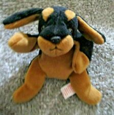 Ty Beanie Baby Doby the Doberman Pinscher Dob October 9. 1996 Mwmt