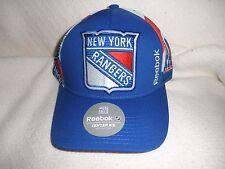 REEBOK NEW YORK RANGERS SNAP BACK HAT, NWT'S (Blue/White/Red)