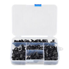 80pcs Motorcycle Fairing Fastener Bolt Push Pry M8 M7 M6 Nylon Rivets Atv Clip