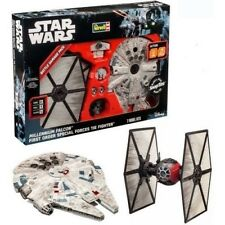 Star Wars Millennium Falcon First Order Tie Fighter SnapTite Model Kit Revell