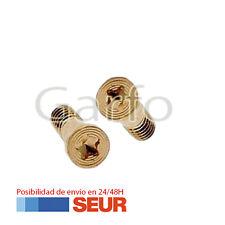 2 Tornillos Exteriores Pentalobe para Iphone 5 5S 5C Oro Dorado Gold