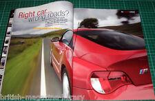 BMW Car 10/2006 - Z4 M Coupe Hartge M5 ACS Street Tension Ultimate Guide BMW E31