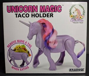 Unicorn Magic Taco Holder Stand for Kids Children Adult Taco Lover